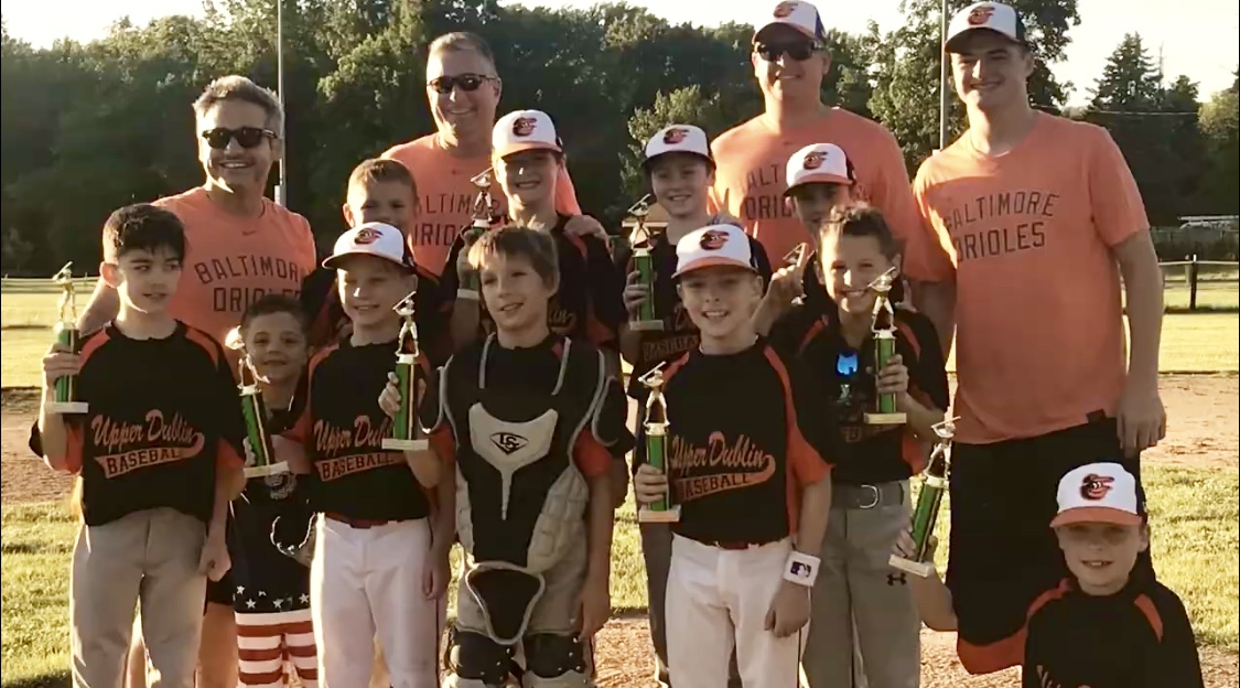 Congratulation to the Orioles, the 2019 UDJAA Baseball Rookies league champions!